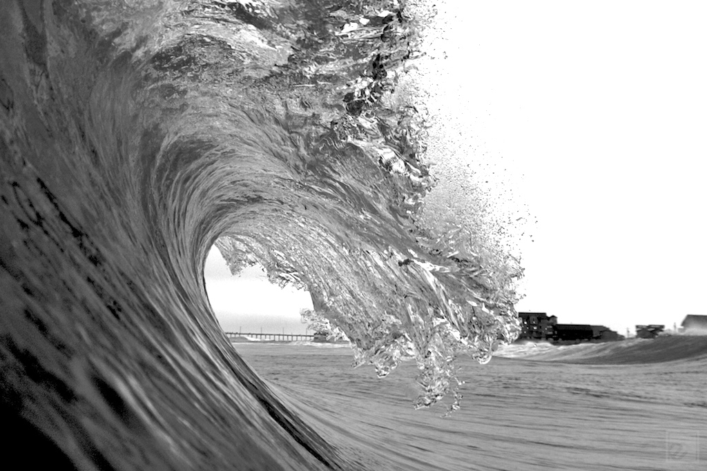 an empty wave