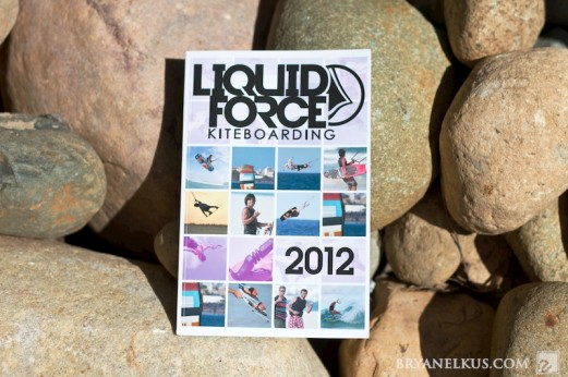 Cover of the 2012 Liquid Force Catalog