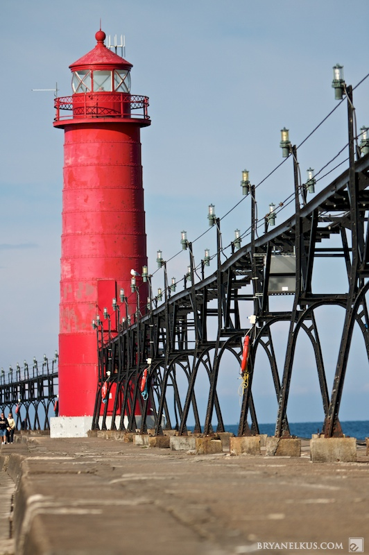 The Grand Haven Lighthouse