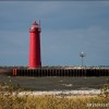 The muskegon Lighthouse