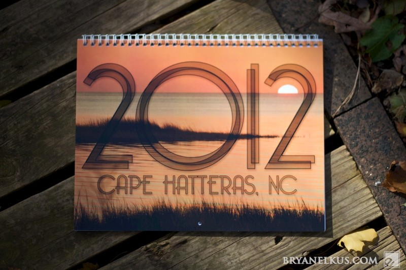 Cover of Cape Hatteras OBX Calendar