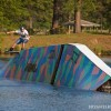 Rich Sabo wakeboarding at the East Coast Cable Park