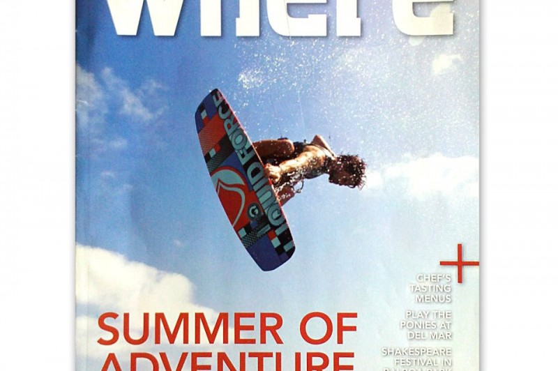 Julien Filion on the cover of Where Magazine Photo: bryan elkus