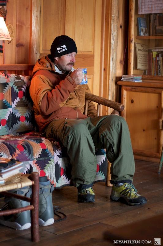 Snowkiting Jackson Hole Bryan Elkus