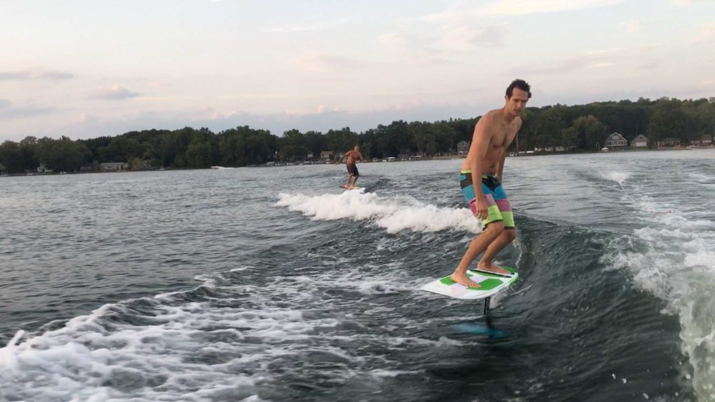 First Wake Foiling Session – Bryan Elkus